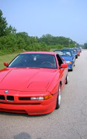 BMWs as far as the eye can see!