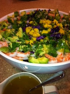 "Tropical ""Non-Holiday"" Salad: A Guest Post by Healthy Sous-Chef Partyologist, Lea Bowen"