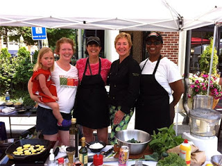 A Taste of the Mediterranean at the Brookhaven Farmer's Market Today!