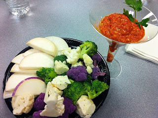Meatless, Luscious, Fun: San Francisco the Eaters City – Roasted Red Pepper Dressing or Dip!