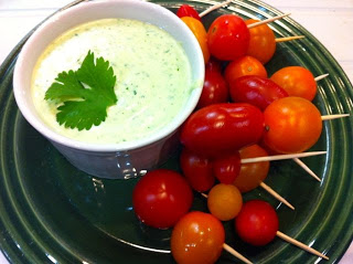 Meatless Luscious Fun – Creamy Lime Dressing and Dip – 070113