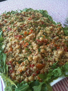 Meatless Luscious Fun – No Cook Mediterranean Quinoa Salad – 070813