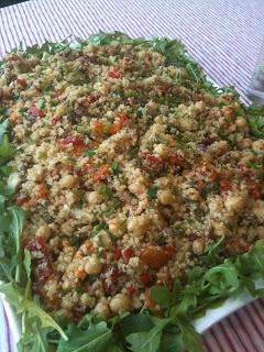 Meatless Luscious Fun – No Cook Mediterranean Quinoa Salad – 070813