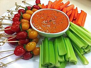 Meatless Luscious Fun: Piquillo Pepper Dip!
