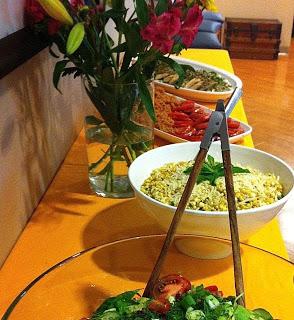 Meatless Luscious Fun – Summer Corn Salad – 081213