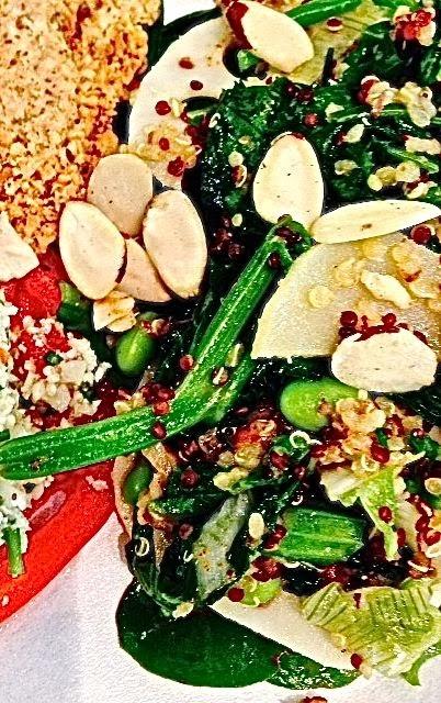 Spicy Tuesday – Asian Almond Quinoa Salad – Cilantro
