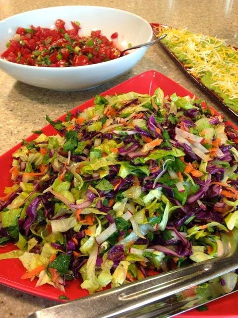 Slaw + Purple Cabbage = Perfection