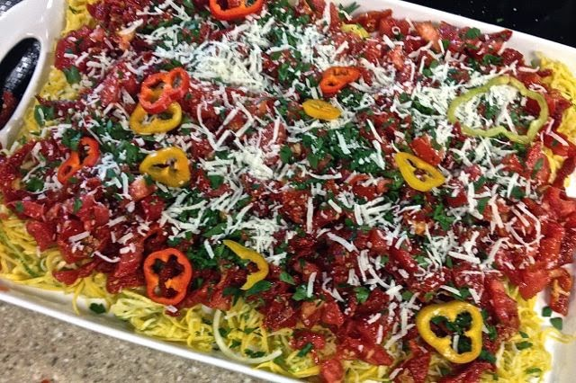 Summer Ripe Tomato Raw Pasta – A Guest Blog by Intern Haley Warren