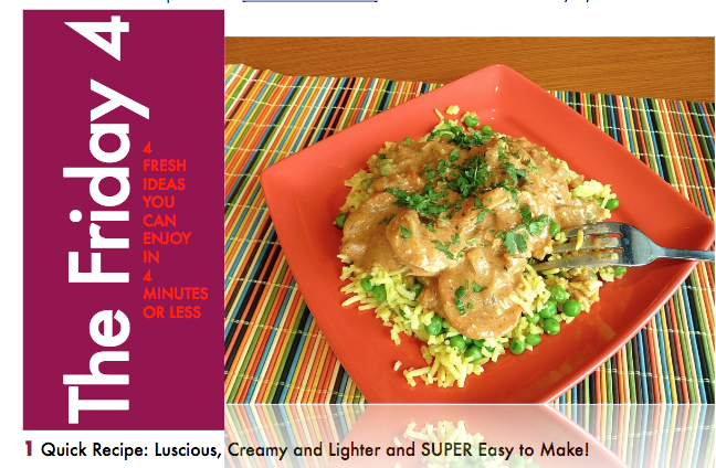 APRIL 29TH, 2016 : Easy Cashew Shrimp Curry