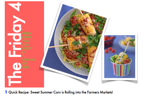 JUNE 10TH, 2016 : Mexican Inspired Summer Corn Salad