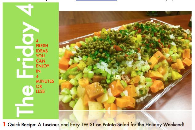 SEP 2ND, 2016 : Sweet Potato Salad