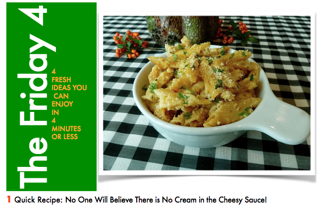 NOV. 4TH, 2016 : Yes! Yummy Easy Better Mac and Cheese