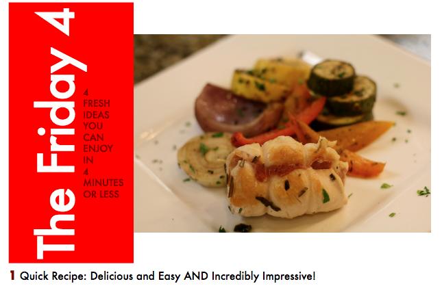 DEC. 2ND, 2016 : Mediterranean Inspired Chicken with Herb Rubbed Veggies