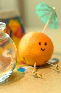 Spicy  Tuesday – Cinnamon Pomegranate Oranges – Cinnamon