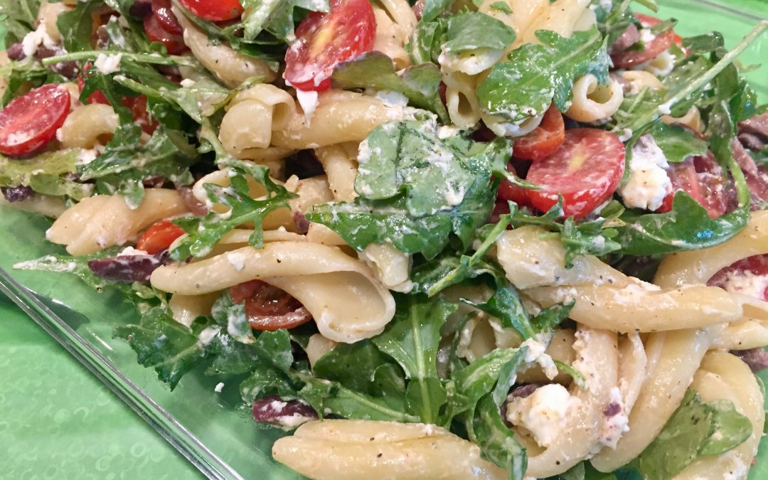 Spicy Tuesday – Pasta Salad with a Rocket Twist!