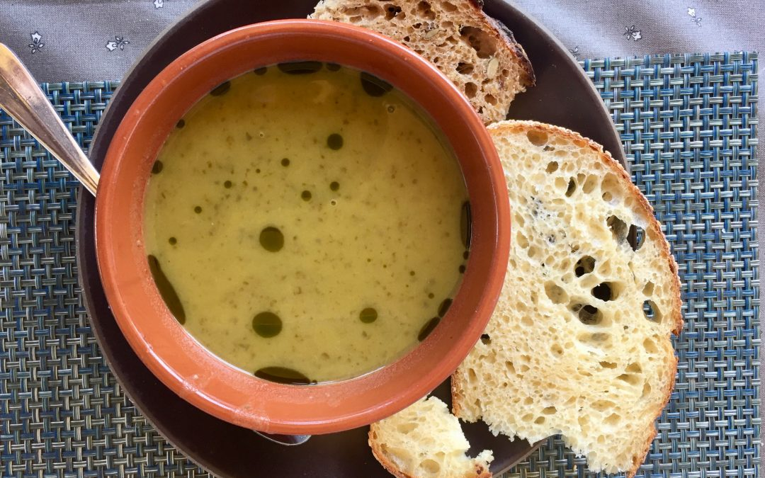 Spicy Tuesday – Spring Asparagus Soup – Chives