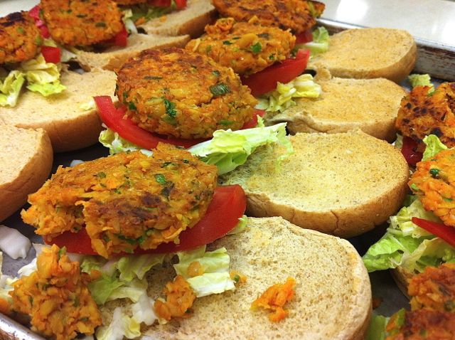 Spicy Tuesday – Chickpea Sliders – Cilantro
