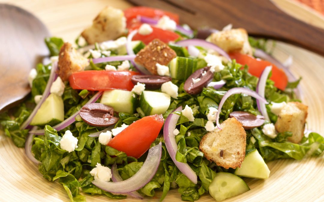 Spicy Tuesday 080117 – NOT Your Average Greek Salad – Oregano