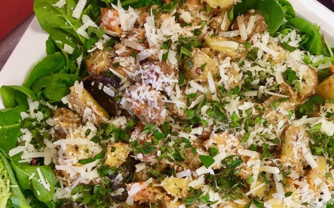 Spicy Tuesday – Potato Potato Potato Salad – Oregano