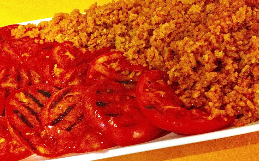 Spicy Tuesday – Mediterranean Red Rice – Oregano