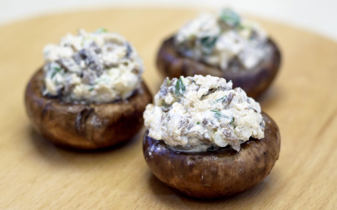 Spicy Tuesday – Easy Crab Stuffed Mushrooms and MORE – Thyme