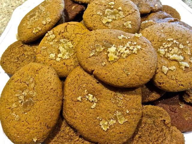 Spicy Tuesday – Double Ginger Molasses Cookies – Ginger