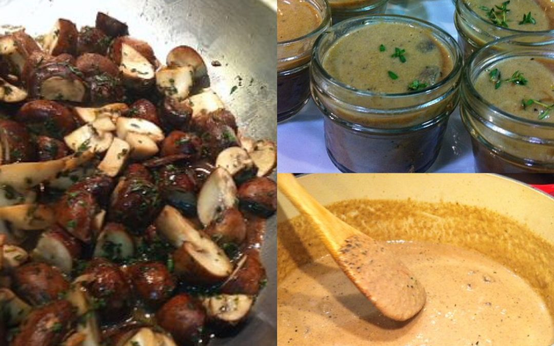 Spicy Tuesday –  Rich Wild Mushroom Soup – Parsley