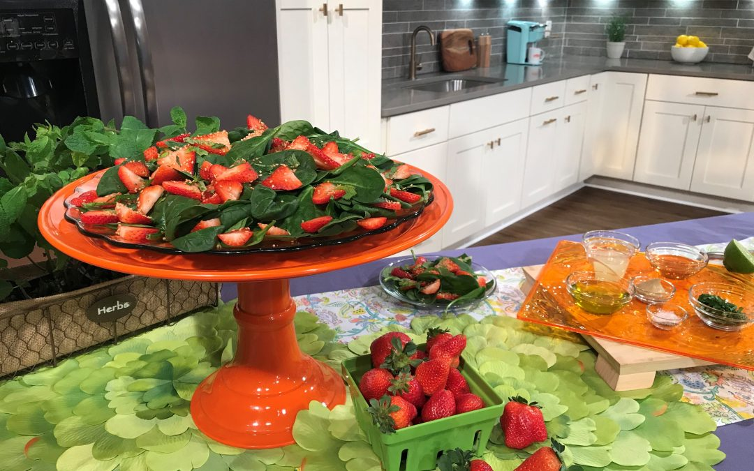 Simply Sensational Spring Salads with Atlanta & CO Today!