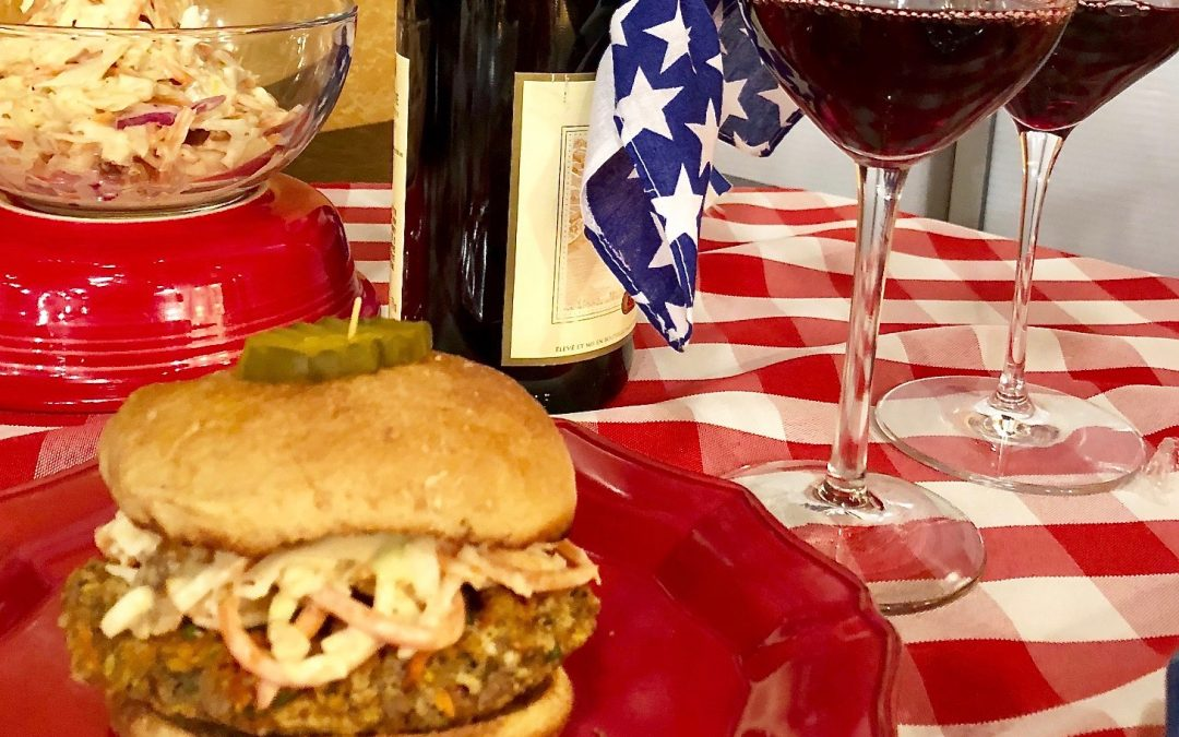 Happy 4th – Veggie Burgers from the Grill on Atlanta and Company