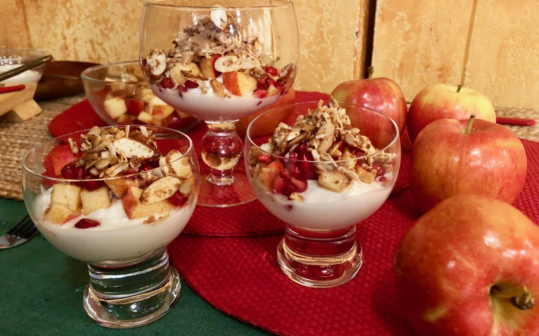 Spicy Tuesday – Apple Breakfast Bowl – Ginger