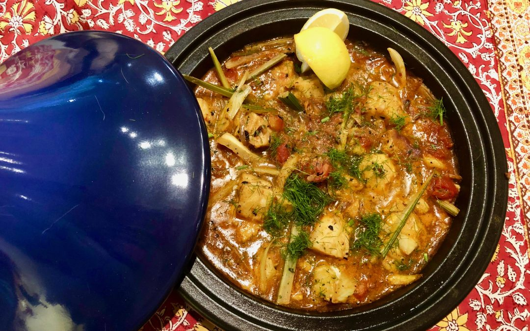 Spicy Tuesday 010819 Easy Fish and Fennel Tagine – Cilantro and Cumin
