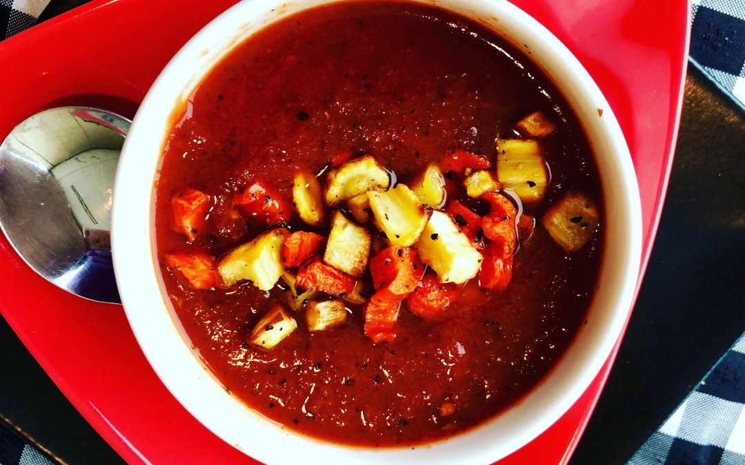Spicy Tuesday – Smoky Tomato Soup – Tarragon