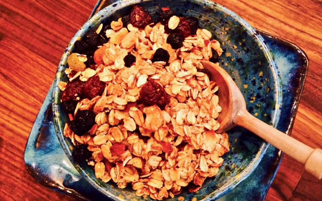 Spicy Tuesday – Homemade Ginger Granola – Ginger
