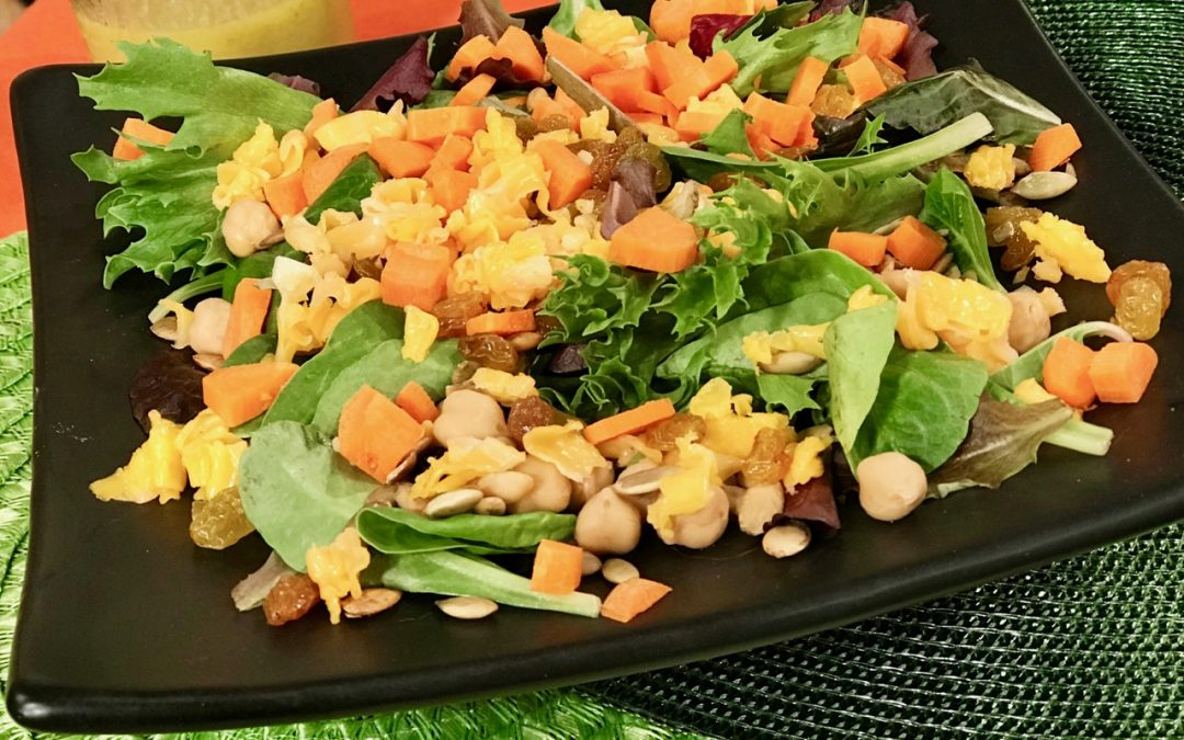 Spicy Tuesday – Hand Made Honey Mustard Dressing and Salad – Arugula