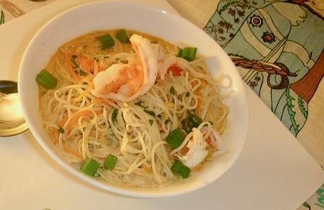 Spicy Tuesday – Thai Coconut Shrimp Soup – Cilantro