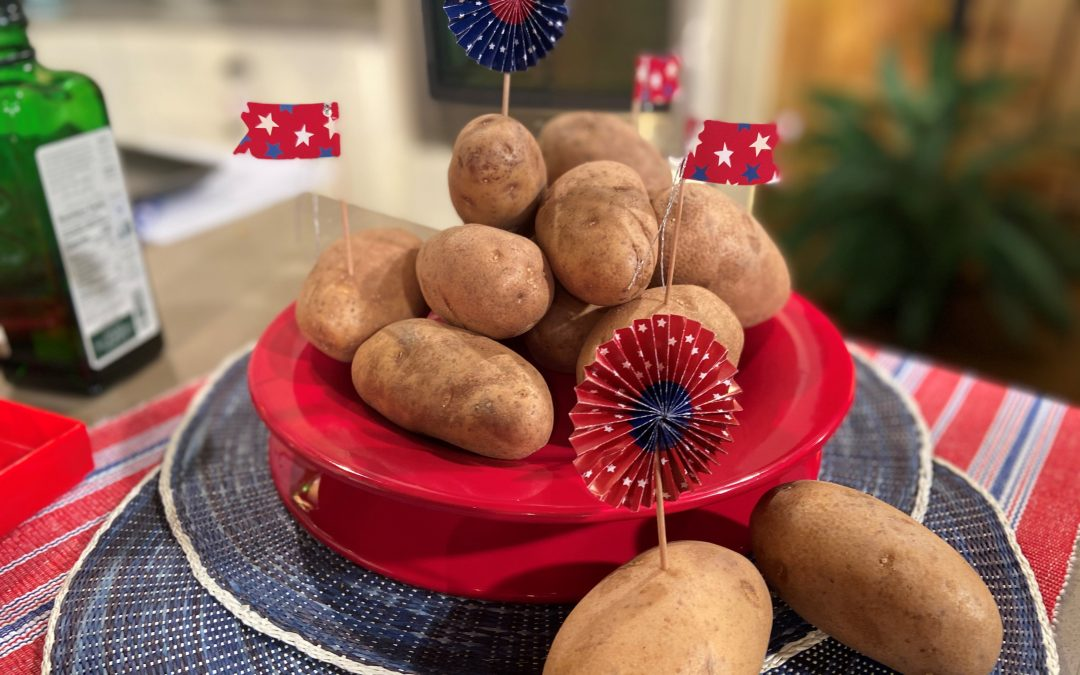 Happy President's Day! Celebrate with Potatoes🥔🥔🥔