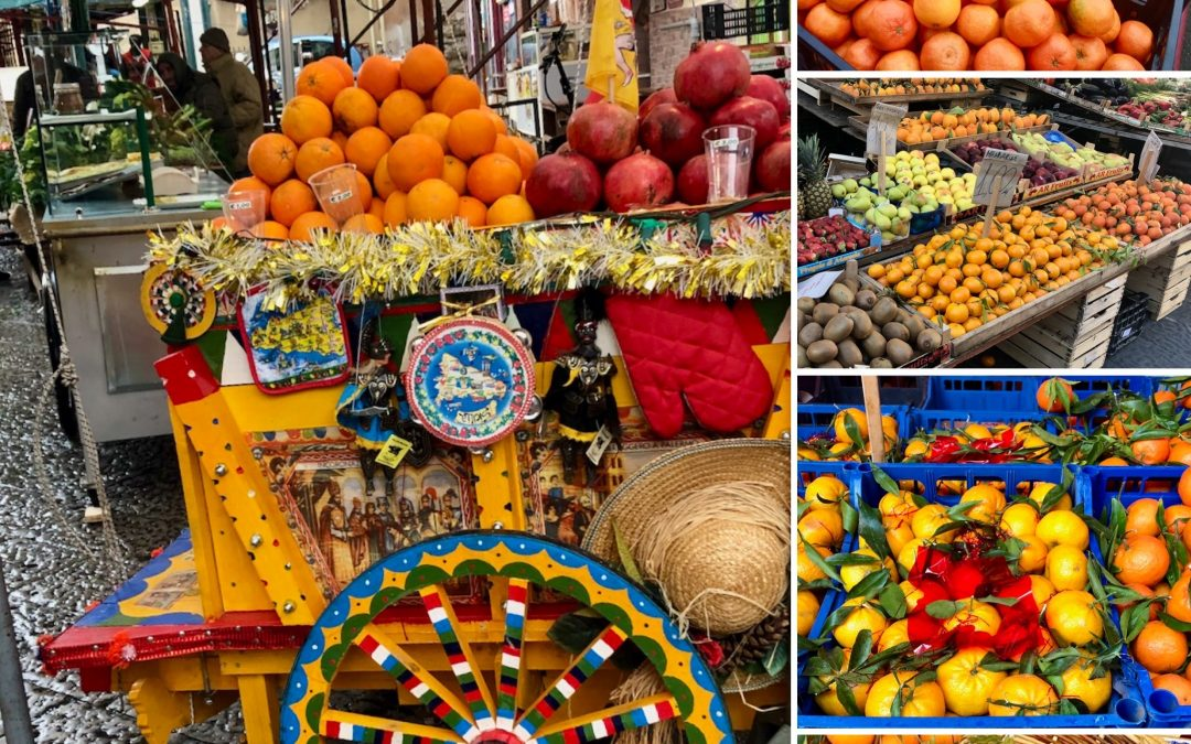 Celebrate Sicily Day Four: Oranges, Almonds and Pistachios, Oh My! Sicilian Marsala Oranges