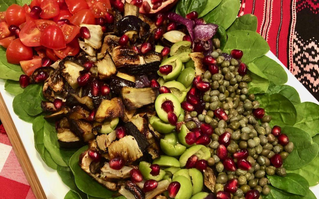 Celebrate Sicily Day Seven: Sicilian Salad Caponata