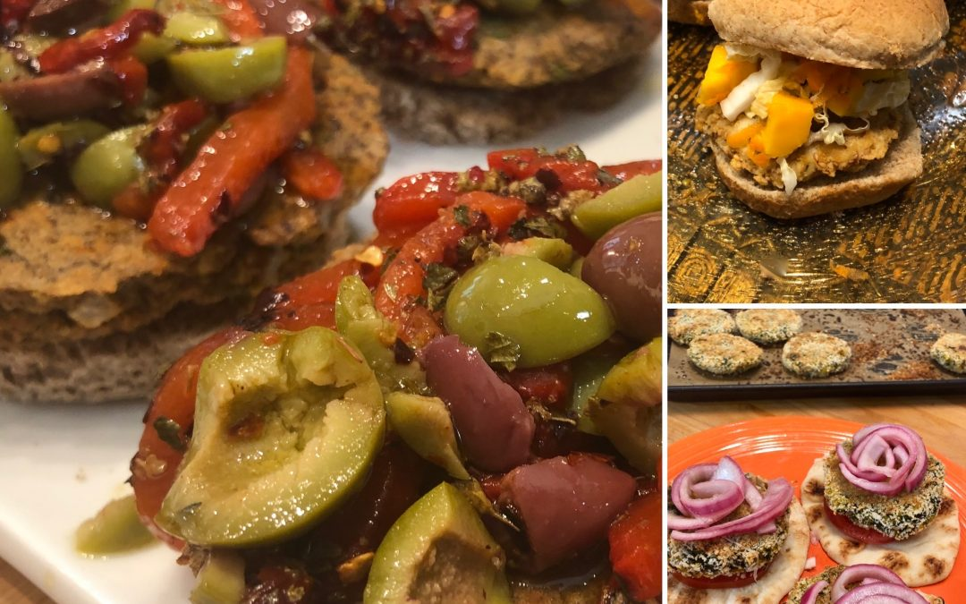 Burger Madness – Three Yummy and Easy Burgers Made without Meat!