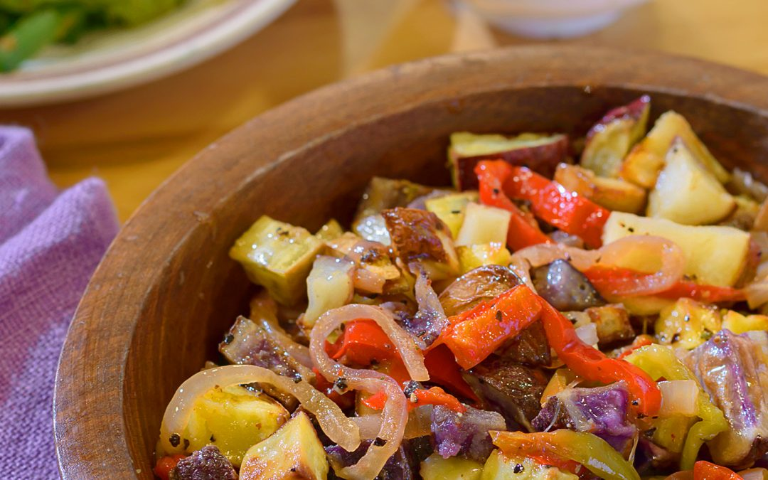 Spicy Tuesday – Potato Potato Potato Salad – Oregano