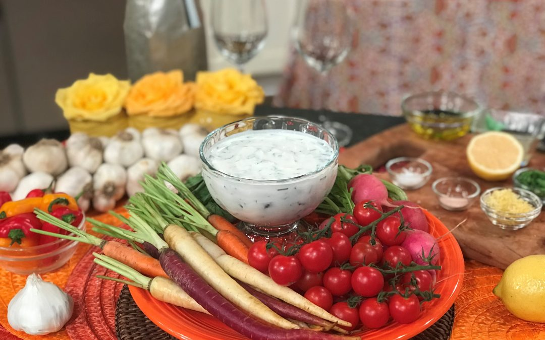 Spicy Tuesday – Mediterranean Lemon Herb Dip – Chives