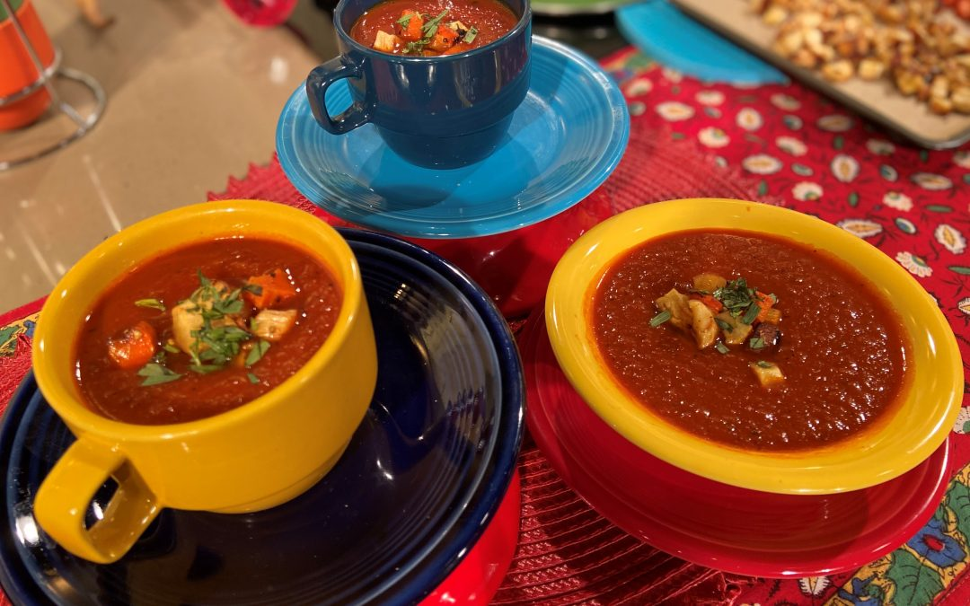 Spicy Tuesday – Smoky Tomato Soup – Smoked Paprika