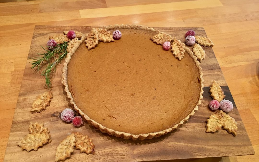 Spicy Tuesday – EASY Pumpkin Pie – Cinnamon
