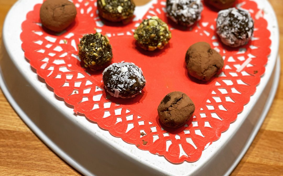 Celebrate Chocolate Month with an EASY YUMMY FUN Chocolate Truffle!