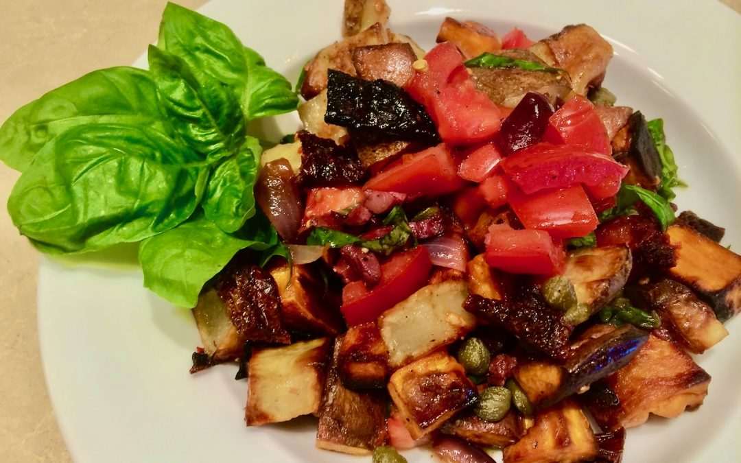 Spicy Tuesday – Super Side: Herbed and Spiced Potatoes – Basil