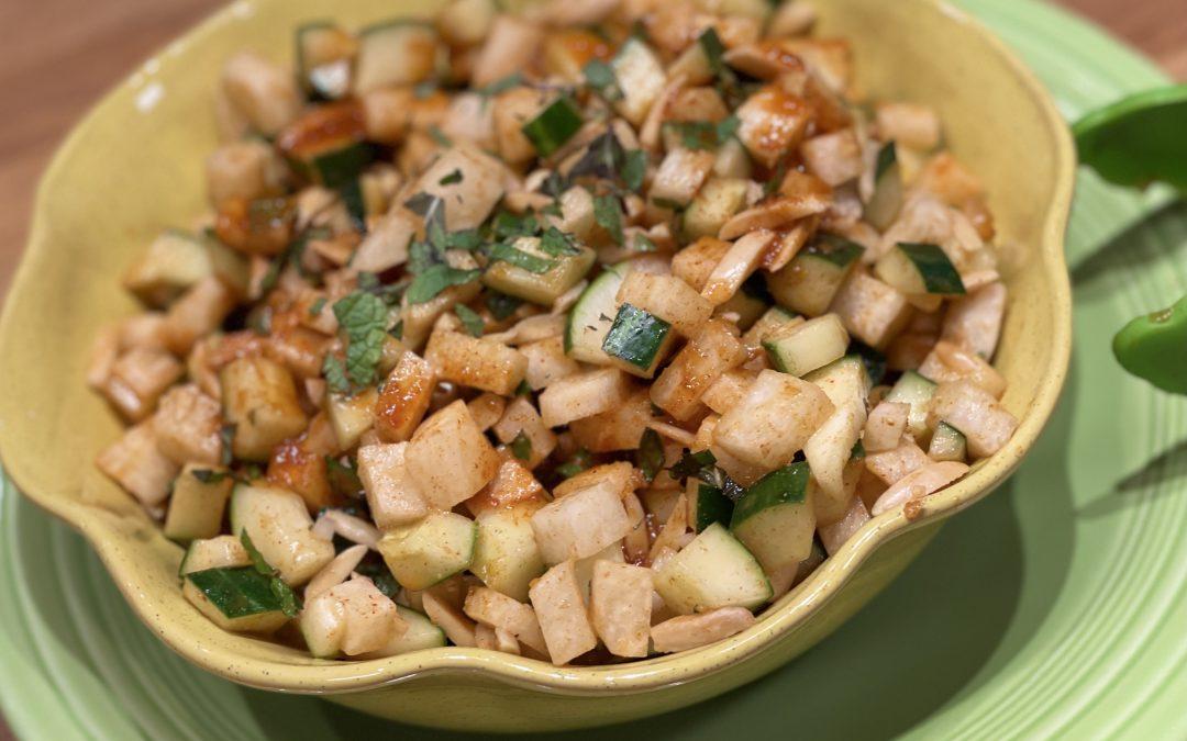 Spicy Tuesday – Jicama and Cucumber Summer Salad – Smoked Paprika