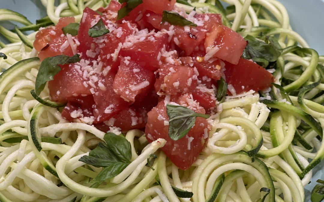 Spicy Tuesday – Summer Fresh Tomato Pasta – Parsley