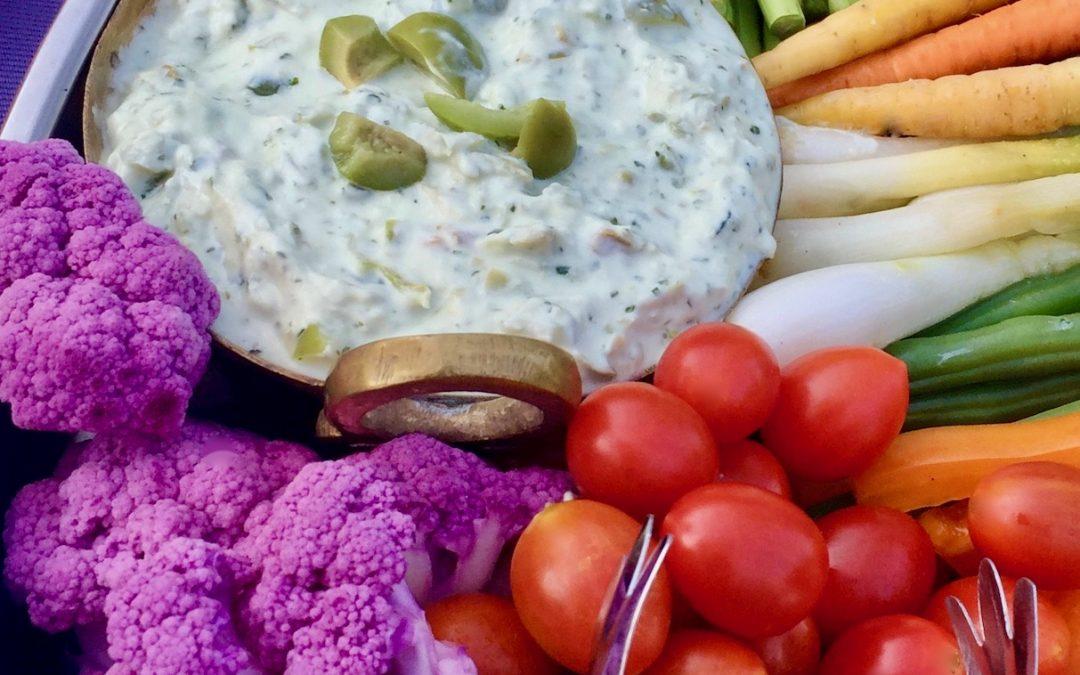 Spicy Tuesday – Creamy Green Olive Dip – Cilantro